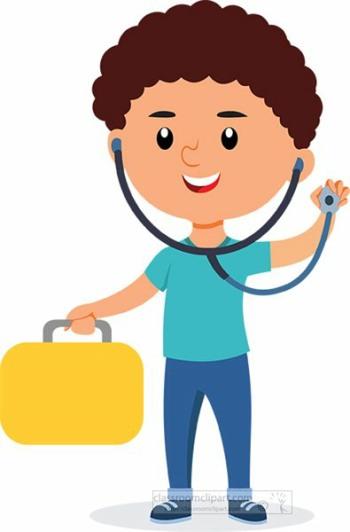 child holding stethoscope multiple sclerosis anatomy