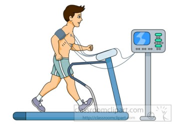 stress test exercise electrocardiogram treadmill test ecg clipart MS Exercise