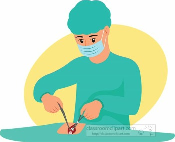 doctor performing surgery Multiple Sclerosis Hope