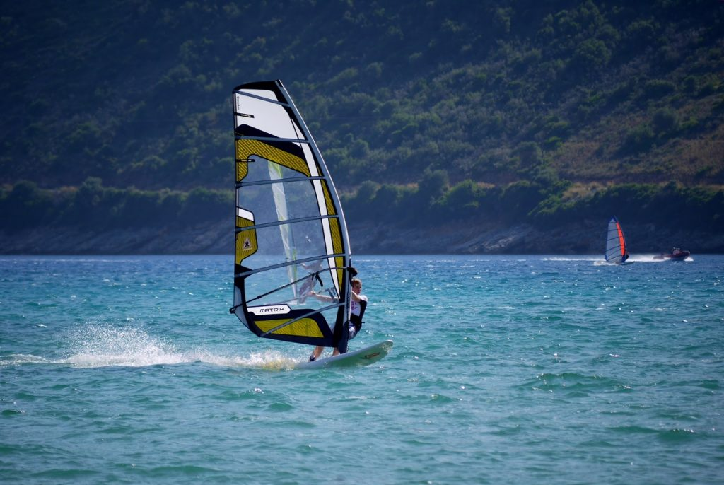 Remember Windsurfing days